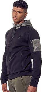 Kaporal - Sweatshirt zippé régular Homme à Capuche - Briac - Homme