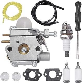 Anxingo 753-06190 Carburetor for MTD Troy Bilt TB21EC TB22 TB22EC TB32EC TB42BC TB80EC TB2040XP String Trimmer Brushcutter with Fuel Line Filter Spark Plug