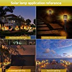Aityvert Solar Torch Light Upgraded-Flickering Flames Torches Lights-Waterproof Solar Lights Outdoor Landscape… 5