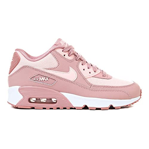 newest a5a86 f0df5 Nike Air Max 90 Se Mesh (GS), Sneakers Basses Femme