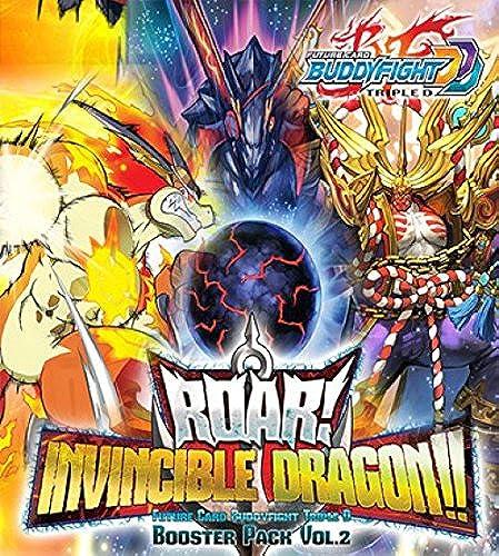BuddyFight Roar  Invincible Dragon   Booster Box English Game Cards BFE-D-BT02 by Buddyfight