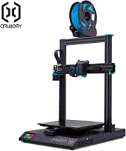 Artillery Sidewinder X1 3D Printer 2019 Newest 95% Pre-Assembled 300x300x400 Model with Dual Z Axis Ultra-Quiet Printing 0.6mm Direct Drive Extruder Filament Runout Detection and Recovery (Silver)