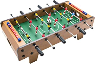 جدول كرة القدم Wooden Foosball Table, Portable Durable Multiplayer Mini Table Football, Table Football Game For Birthday P...