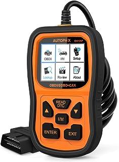 AUTOPHIX OBD2 OBD II Scanner Enhanced OM126P Vehicle Code Reader Auto Diagnostic Check Engine Light for All OBD II Car After 1996[Upgrade Version]