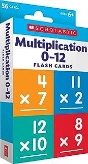 Multiplication 0 - 12 Flash Cards