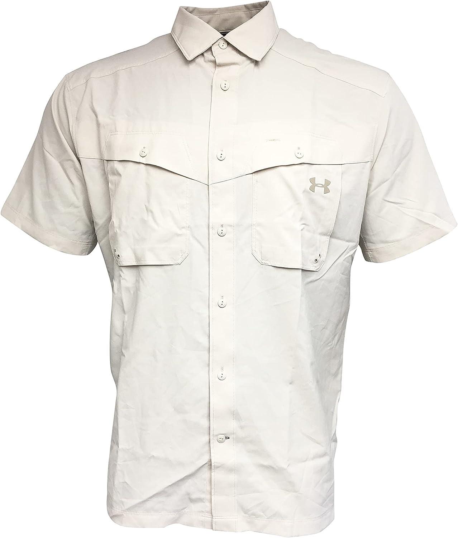 Under Armour Men's Button Up Shirt 100% Polyester
