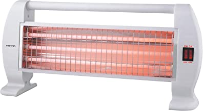 Estufa DE Cuarzo HQP-120 INFINITON 1200W (Control de Temperatura con termostato mecánico, 2 Niveles de Potencia, Seguro Anti-vuelco)