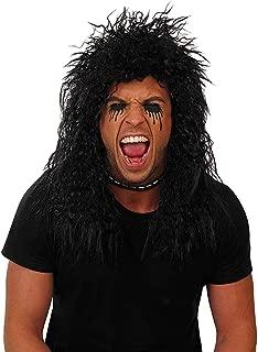 Adults Rock Wigs Unisex 70s 80s Decades Glam Disco Neon Tutu Costume Accessories