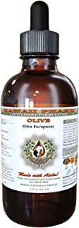 Olive (Olea europaea) Organic Dried Leaf VETERINARY Natural Alcohol-FREE Liquid Extract, Pet Herbal Supplement