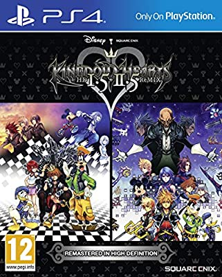 Kingdom Hearts HD 1.5 and 2.5 Remix (PS4) from Square Enix