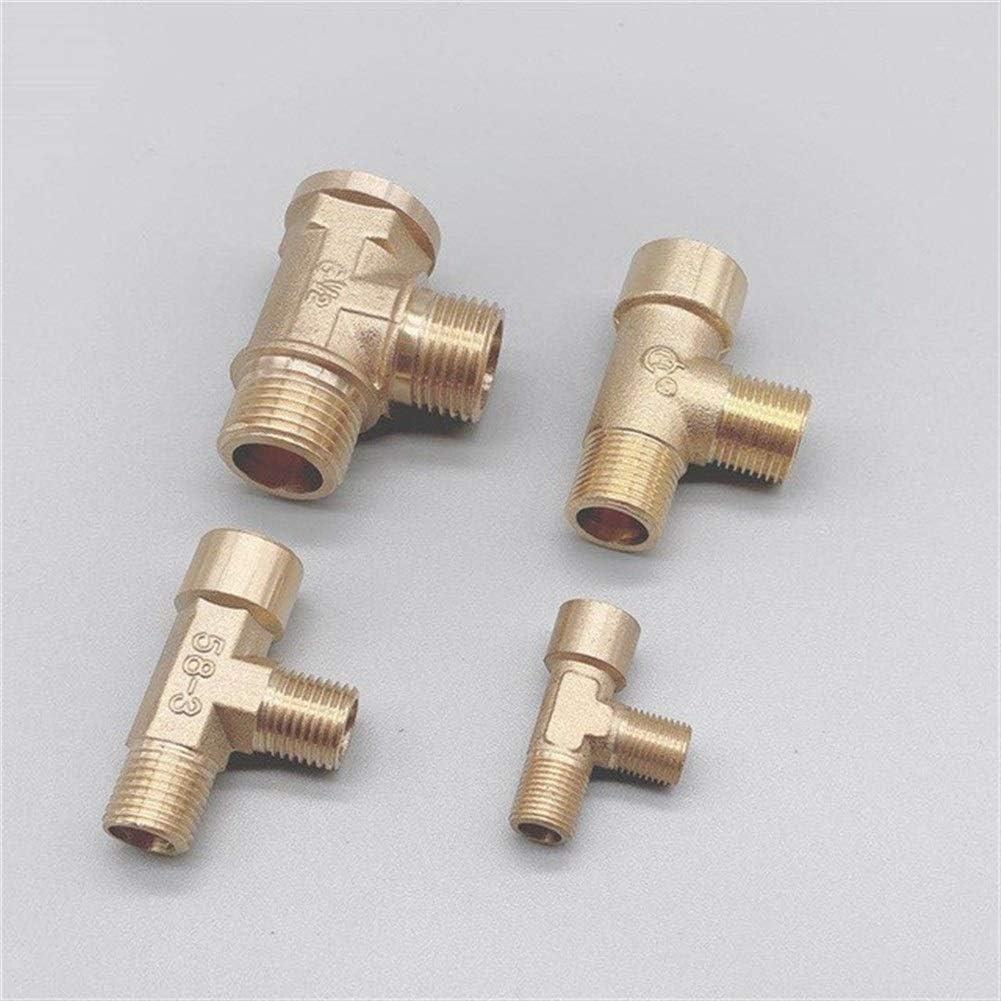 ZEFS--ESD Max 58% OFF Popular standard Accessories Repair 10pcs Fittin Brass Pipe