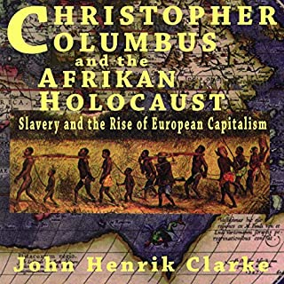 Christopher Columbus and the Afrikan Holocaust audiobook cover art
