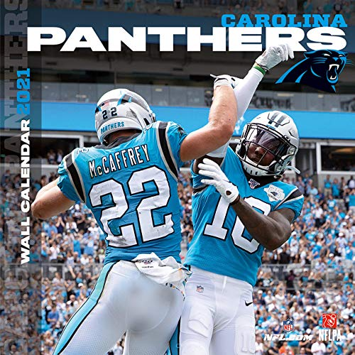Carolina Panthers 2021 Calendar