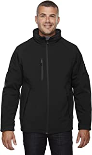 Ash City - North End 88159 - Glacier Men's Insulated Soft Shell Jacket with Detachable Hood