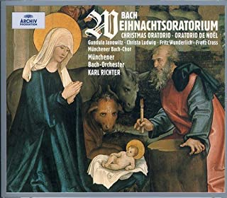 Bach: Weihnachtsoratorium Christmas Oratorio