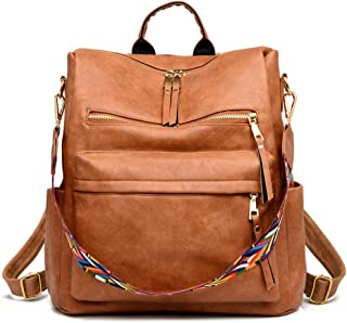 Women's Fashion Backpack Purses Multipurpose Design...