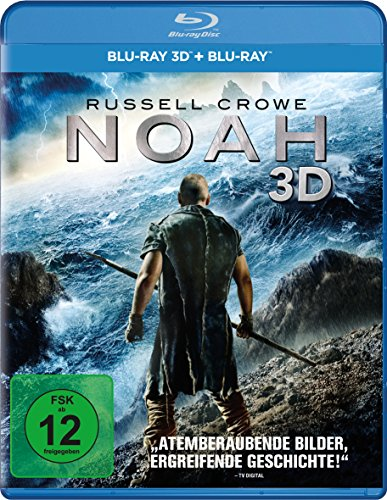 NOAH 3D SUPERSET - MOVIE [Blu-ray] [2014]