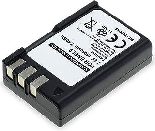 CELLONIC Batería Premium Compatible con Nikon D3000 D5000 D60 D40 D40x (1000mAh) EN-EL9ENEL9aEN EL9E bateria de Repuesto Pila reemplazo sustitución