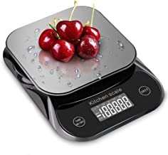 Balance de cuisine alimentaire, gramme et once numérique électronique avec calculateur nutritionnel pour, fruits, calories...