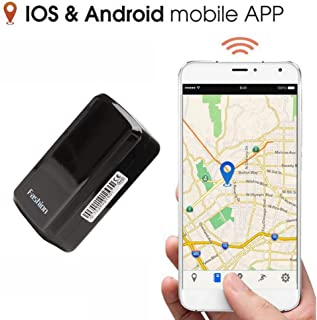 Mini GPS Tracker, GPS Tracker Anti-Thief GPS Tracking Device SMS Locator Global Real Time Tracking for Car/Vehicle/Motorcycle/Bycicle/Kids/Wallet/documents/Bags with app for iOS and Android