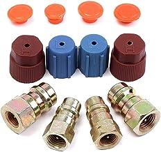 1//2/filettatura per American and Europe Winomo aria condizionata refrigerante R134/A tubo di ricarica con manometro per auto