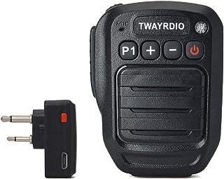TWAYRDIO Midland用 ミッドランド用 Icom アイコム用 無線機用 ハンドマイク 無線 ハンディー スピーカーマイク スピーカーマイクロホン 2ピンプラグ式 スマホ対応 GXT1000VP4 LXT600VP3 LXT535VP...