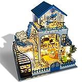 wendaby DIY Puppenhaus 3D Holz Miniaturhaus Mit Kunsthandwerk Geschenk Für Valentinstag, Kindertag,...