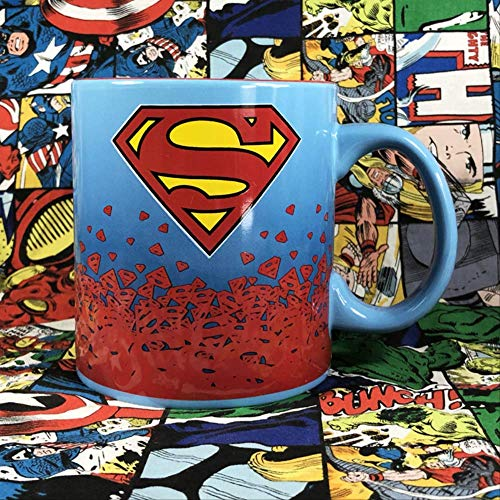 DC Comics Wonder Woman Batman Superman Lightning Justice League Ceramic Cup