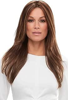 Zara Wig Long Layered Feathered Smart Lace Front Monofilament Womens Jon Renau Wigs - 14/26S10