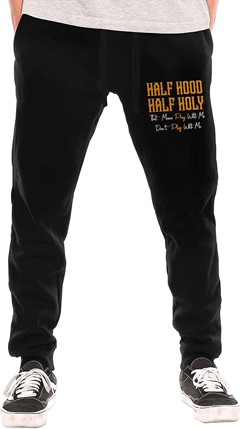 Constantyou Half In a popularity Hood Some reservation Holy Sweatpants Casual for Mans Pants