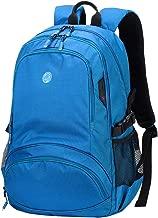 Outdoor Bag,Large Capacity Hiking Backpack Casual Lightweight Durable Laptop Knapsack Waterproof Travel Business Rucksack,Blue,31 * 46 * 23cm