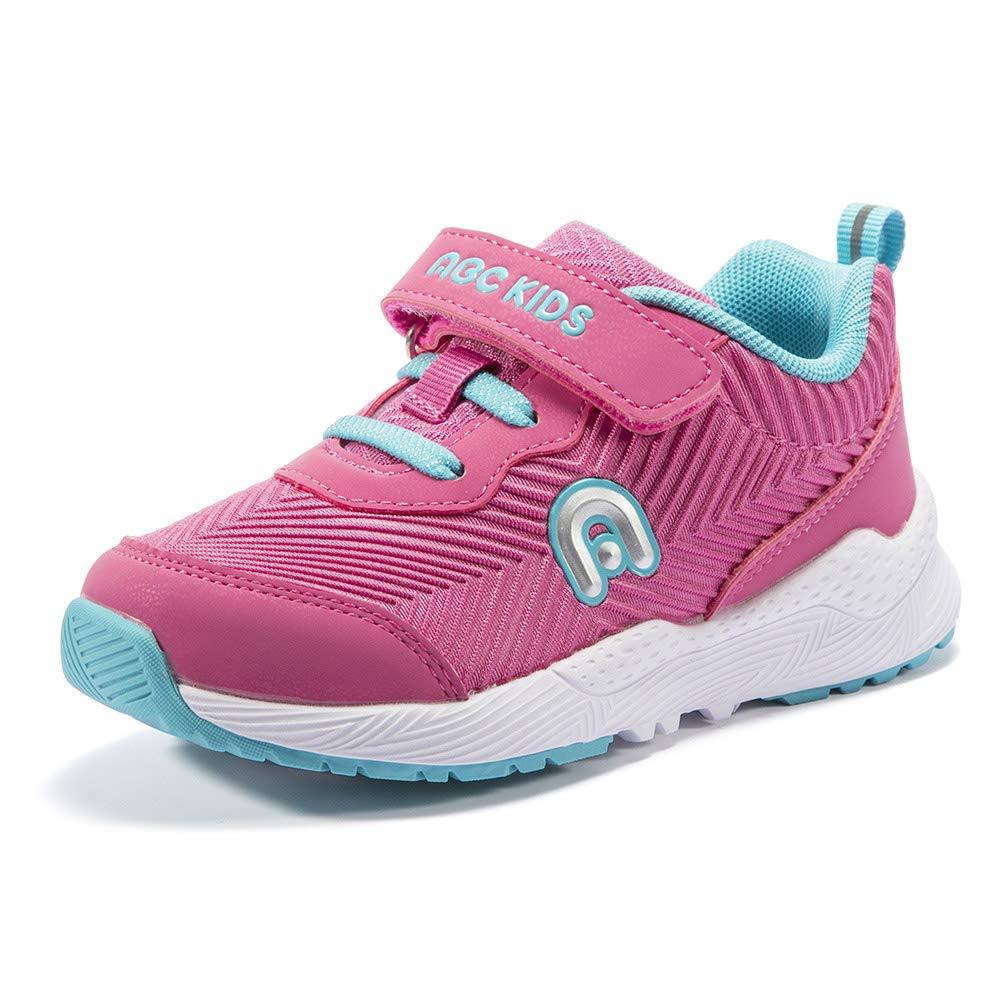 レールつぶすメトリック[URMAGIC] 女の子 運動靴 通学靴 かわいい 軽量 通気性 滑り止め カジュアル シューズ スニーカー ソフト底 ファーストシューズ ABCKIDS
