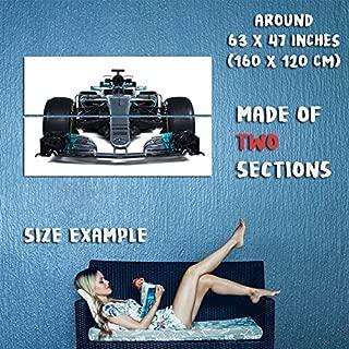 160363 2017 Mercedes AMG F1 W08 EQ Power 4K Decor Wall 63x47 Huge Giant Poster Print