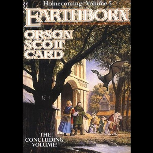 Earthborn audiobook cover art
