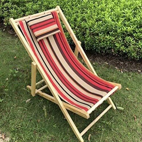 Silla de respaldo para exterior, silla plegable, tumbona de playa, funda de cojín, tumbona de respaldo