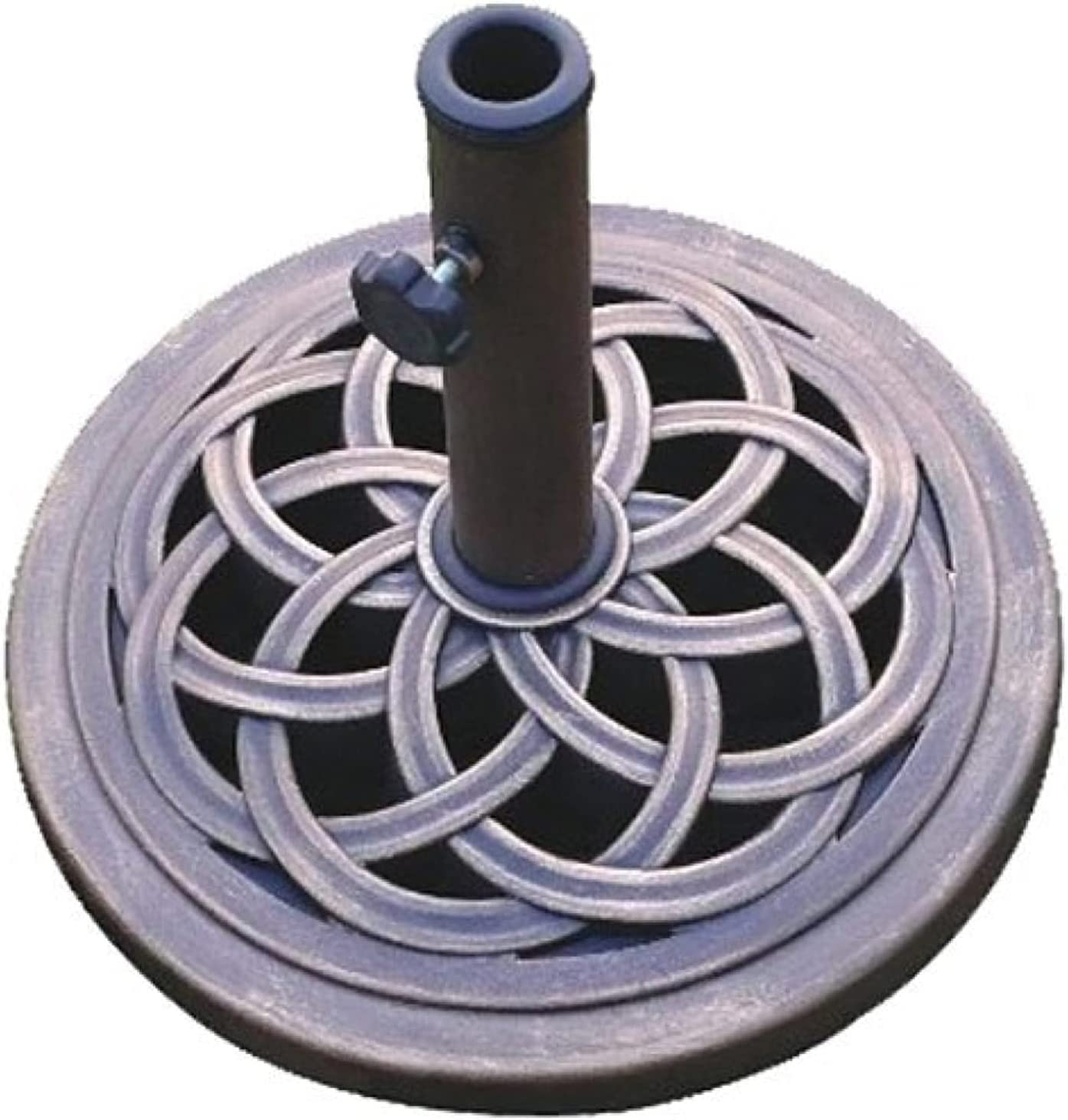 America UBP18181-BR 18-Inch Cast Stone Umbrella Base Selling and selling Made Max 40% OFF from