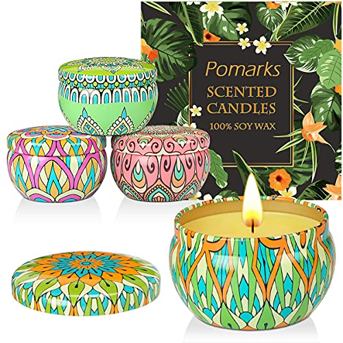 candele profumate bagno Pomarks Set regalo candele profumate