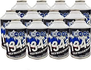Wostore 12 Cans Pure R134a Automotive Refrigerant/Freon 12oz