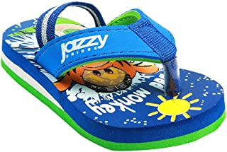 Hopscotch Baby Boys Synthetic Flip Flop in Blue Color