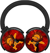 DNpni Baby Daddy Bluetooth Headphones Wireless Deep Bass Headsets On Ear HiFi Bluetooth Earphones Black