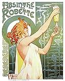 Imaginus Posters Absinthe Robette 'Vintage Pop Art Poster