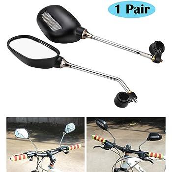 2er Set Fahrradspiegel für Lenker Lenkerspiegel Rückspiegel für Links und Rechts