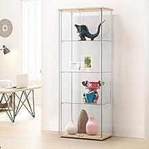 P-Miami 2Door Curio Cabinet-Sonoma Oak