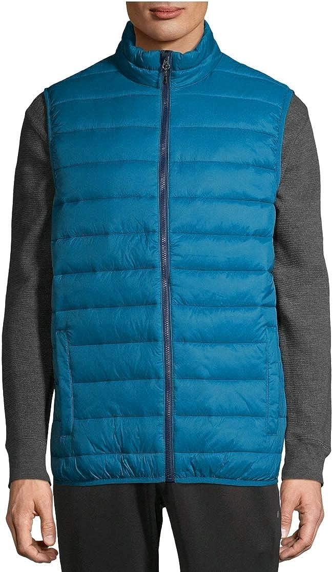 Swiss Tech Performance Gear Corsair Blue Wind & Water Resistant Puffer Vest