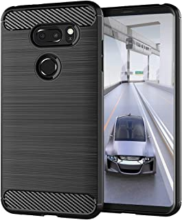LG V30 / LG V30S / LG V30 Plus/LG V30S ThinQ/LG V35 / LG V35 ThinQ Case, [Slim Thin] Anti-Scratches TPU Gel Slim Fit Soft ...