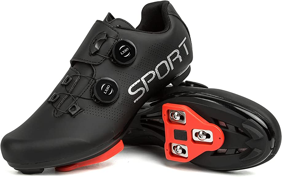 Men's Riding Cycling Shoes with Delta Cleat Set
