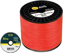 RIO Fly Line Backing, DACRON, 20 lb Test, ORANGE - 100, 200, 250, 300, 400, 600 up to 2400 yds