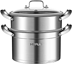 MSWL Steamer 304 Stainless Steel Household Small 1 2 2 3 Three-layer Thickening 24cm Soup Pot Induction Cooker Gas Stove h...
