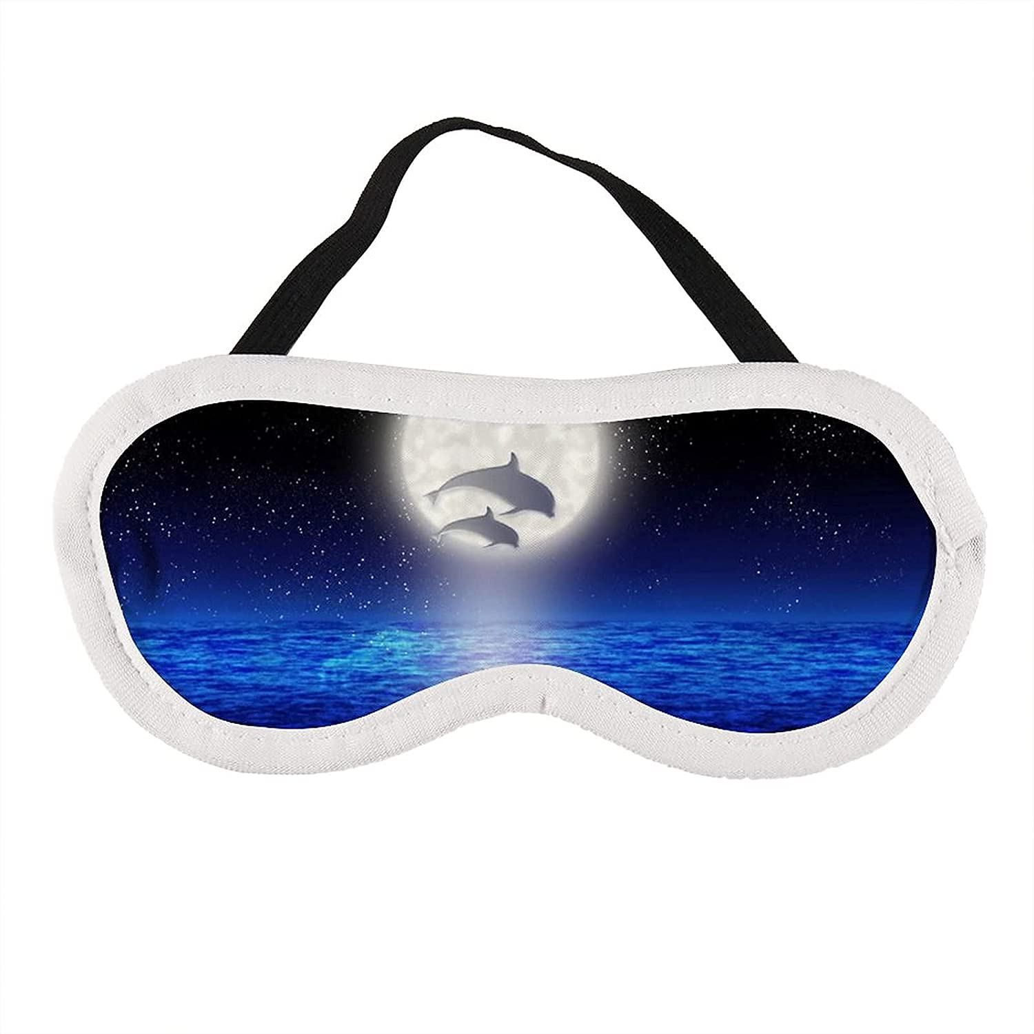 Dolphins Jump Out of The Sea Sale SALE% OFF Regular store Sleep Women for Eye Kids Girls Mask
