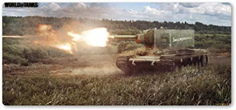 Zyhx34 Tank World Mouse Pad Most Domineering Game Mouse Pad Best Player High Quality Large Personalized Mouse Pad Keyboard Mat Gift-600x300x3mm